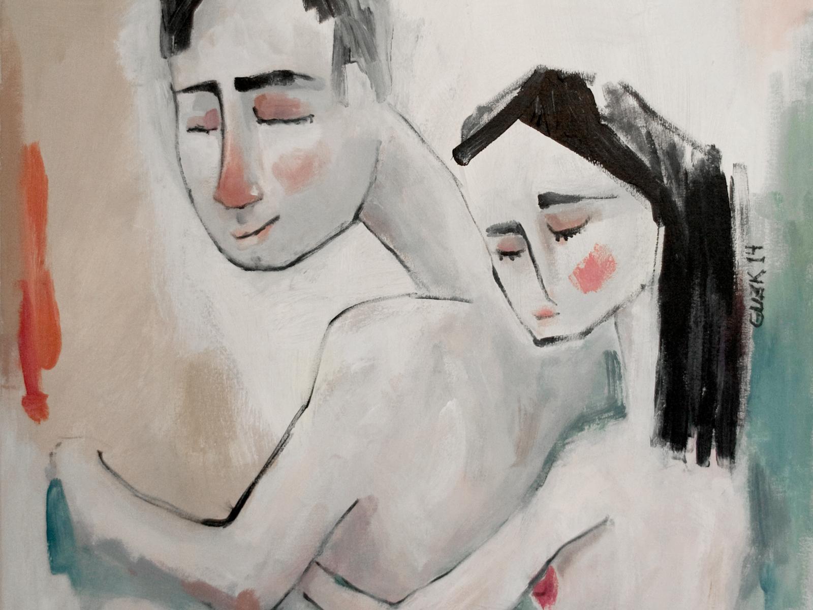 La pintura es más fuerte que yo,&nbsp;<br />&nbsp;siempre consigue que haga&nbsp;<br />&nbsp;lo que ella quiere