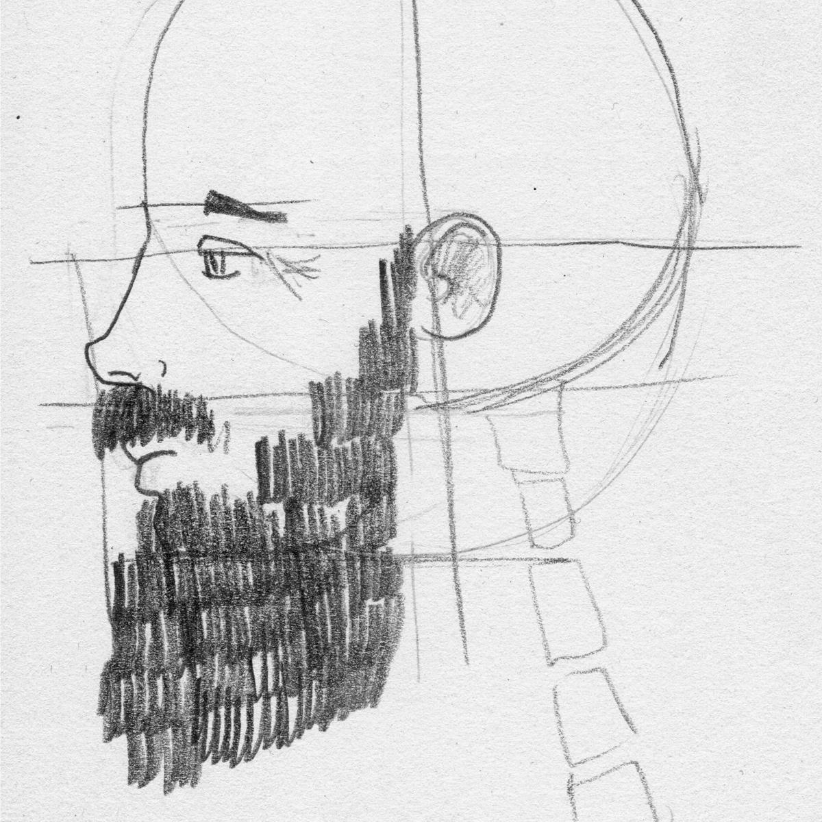 Barbas y vértebras detalle