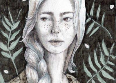 La chica misteriosa de la trenza