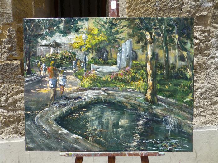 Joseba Iruretagoiena. Premio local XLIX Concurso de pintura - Zarautz