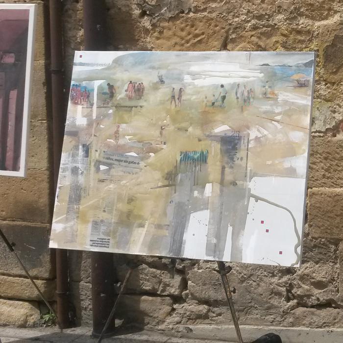 Eneko Arruza. 2do lugar XLIX Concurso de pintura - Zarautz