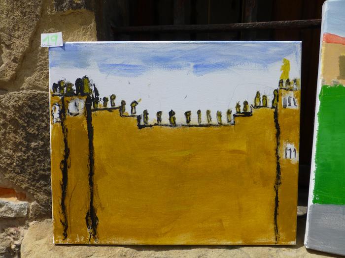 Unai Ramos. Premio infantil. XLIX Concurso de pintura - Zarautz