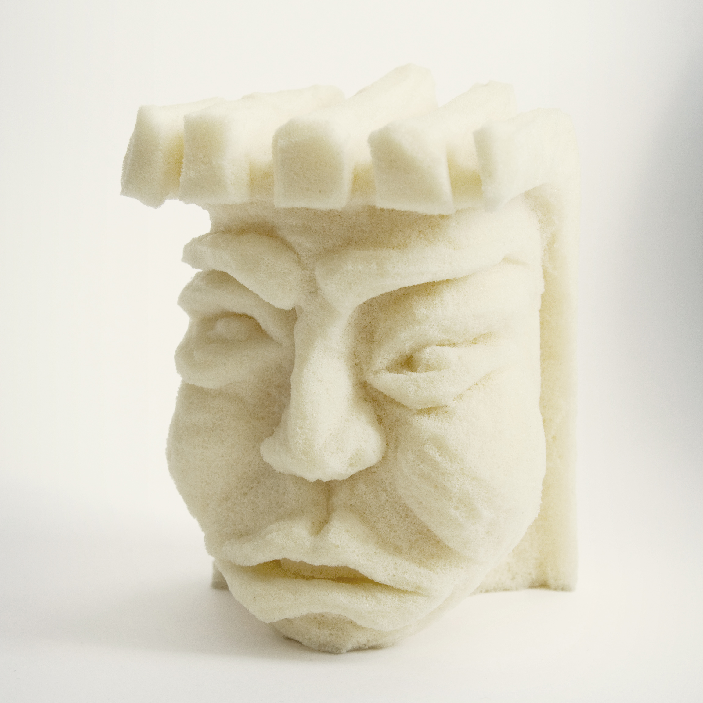 Viscohead 03. Escultura con Viscoelástico