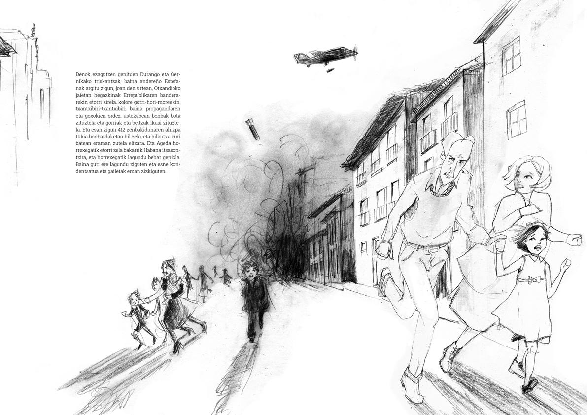 Bombardeos de Guernica y Ochandiano