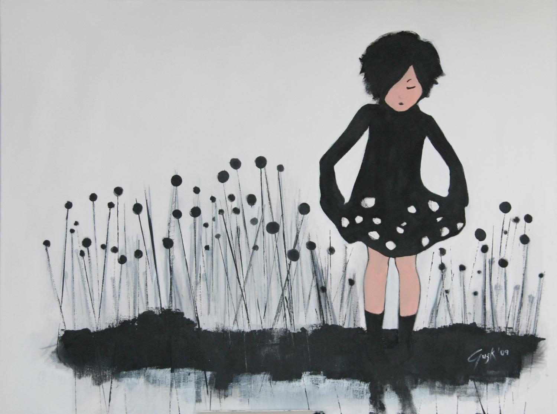 El único momento en que me siento libre&nbsp;<br>&nbsp;es cuando estoy pintando